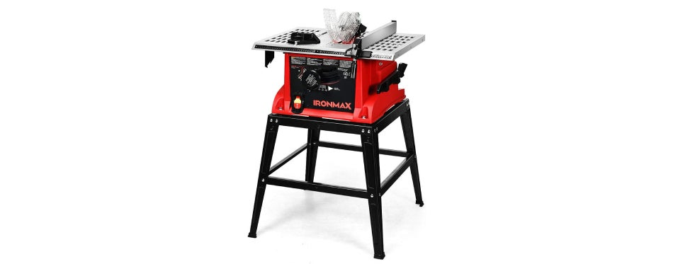 Goplus 10-Inch 15-Amp Portable Table Saw