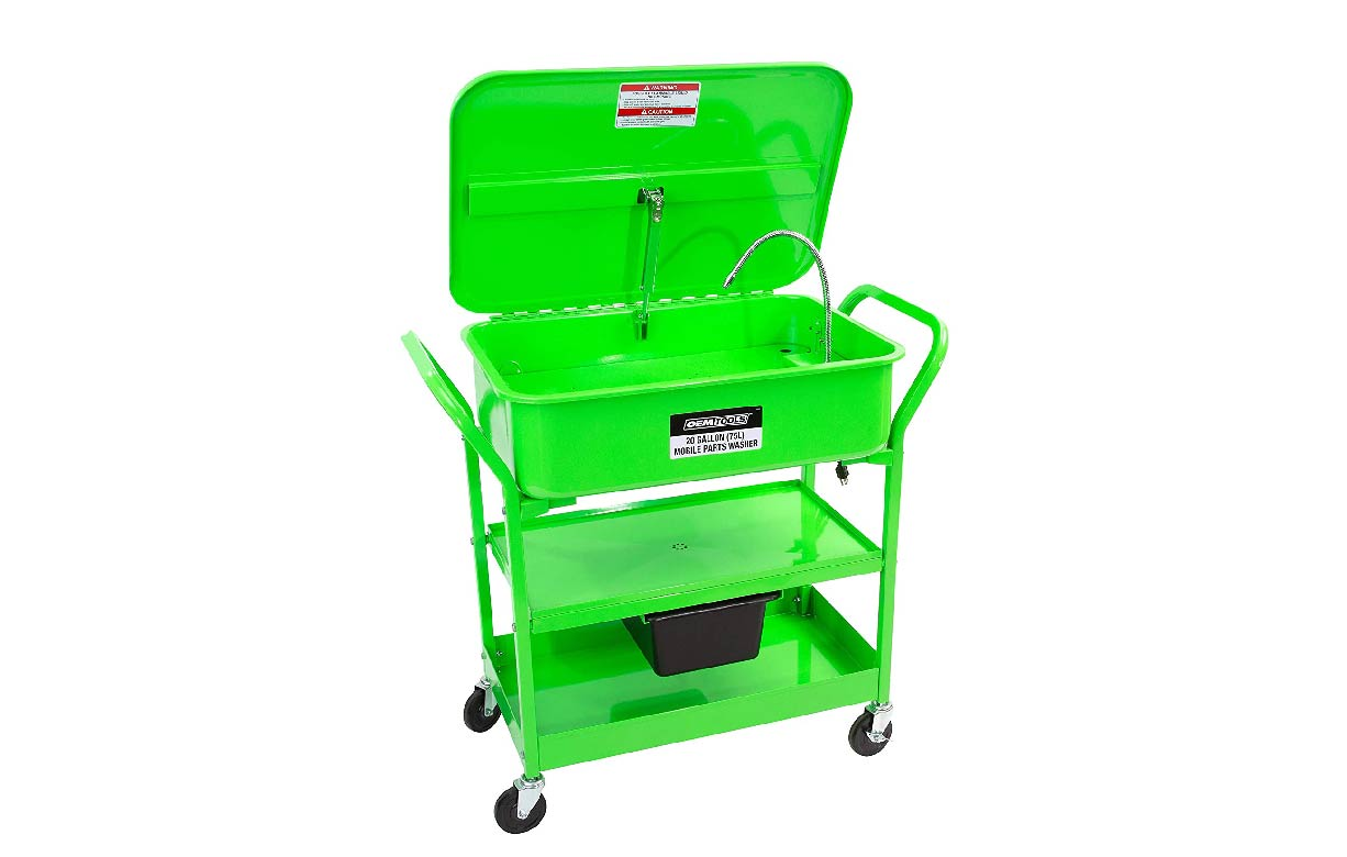 OEMTOOLS 20 Gallon Mobile Parts Washer