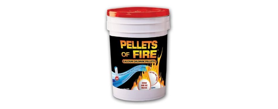 Pellets of Fire Snow & Ice Melter