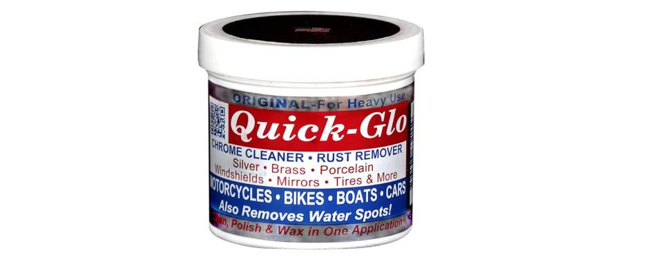 Quick-Glo Chrome Cleaner & Rust Remover