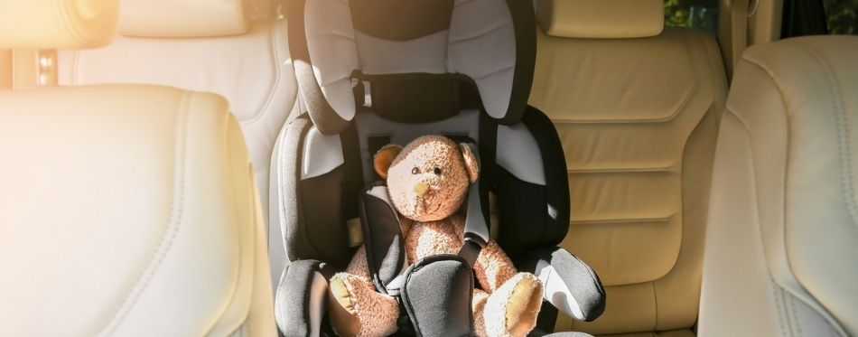 Teddy Bear in a Car Seat For 3 Year Olds