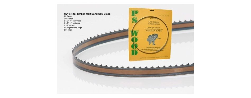 Timber Wolf Bandsaw Blade