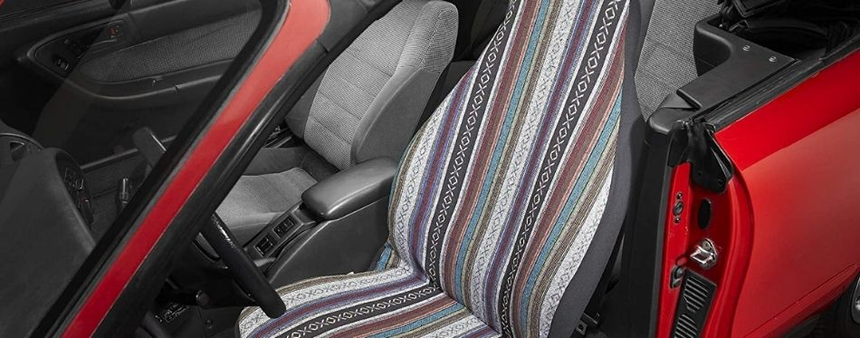 Van Seat Cover With Stripes