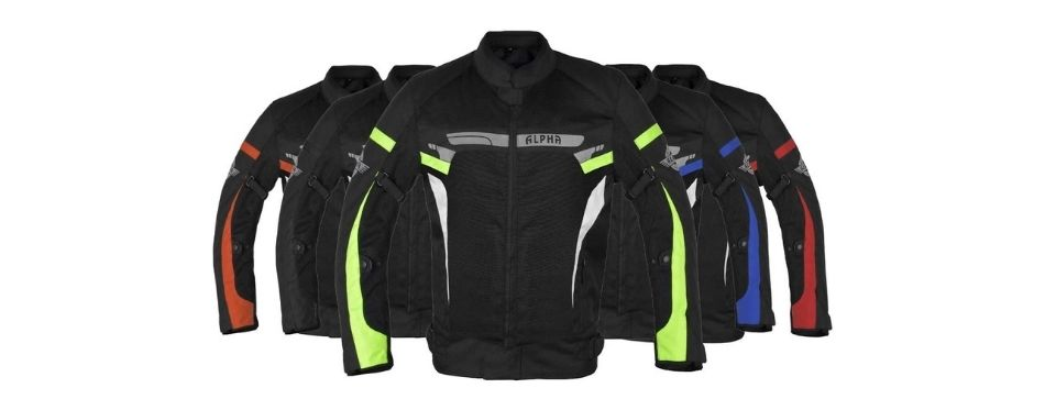 Alpha Cycle Gear Breathable Motorcycle Jacket