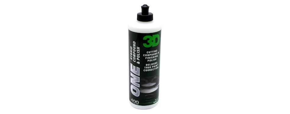 3D One Professional Cutting, Polishing, and Finishing Compound
