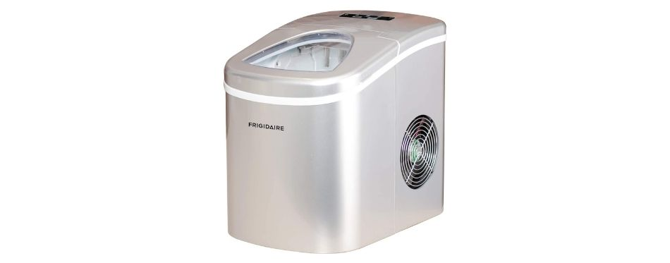 Frigidaire EFIC189-SILVER Compact Ice Maker