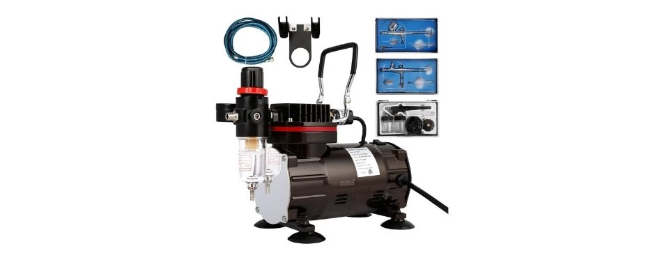 VIVOHOME 110-120V Professional Airbrushing Paint System