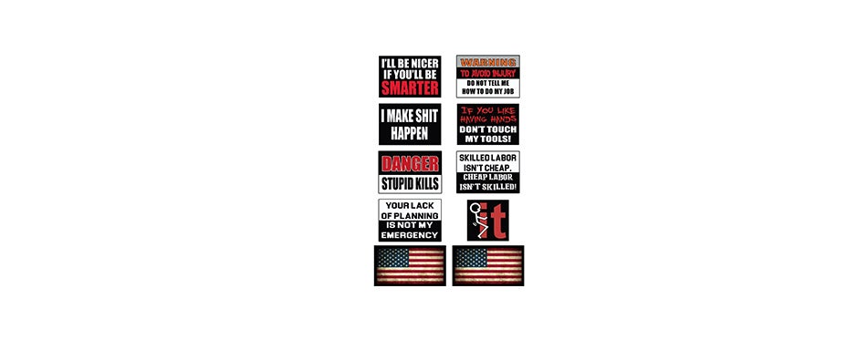America First Funny Stickers