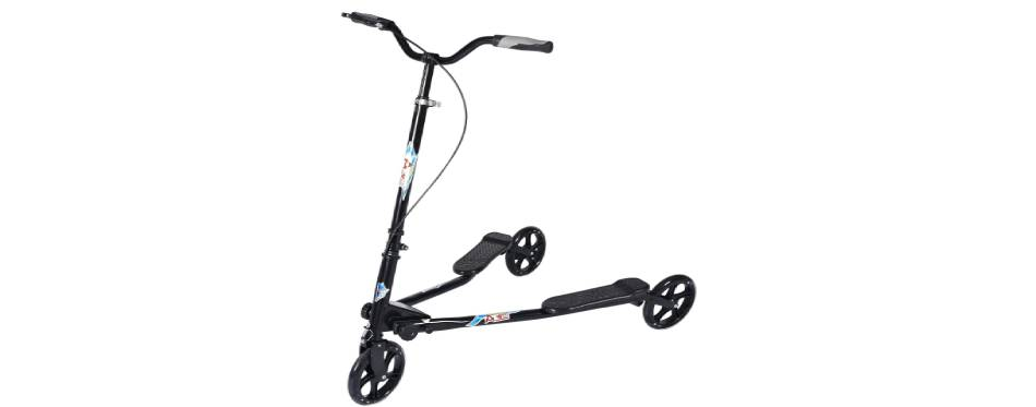 Aodi 3 Wheel Foldable Swing Scooter