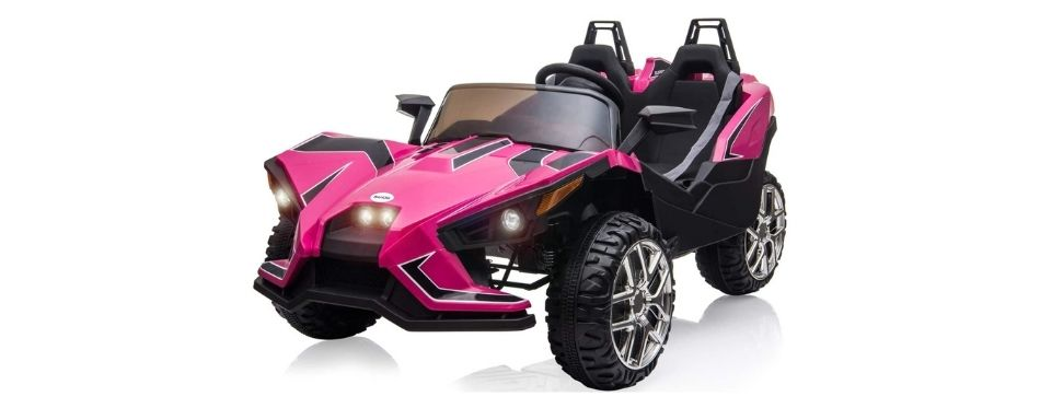 Bahom Kids Ride On Car 2 Seats with Remote Control
