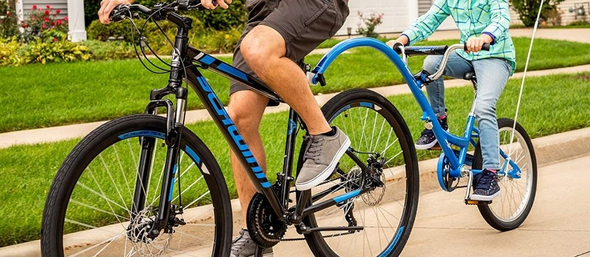 Father And Son Ride One Of The Best Hybrid Bikes