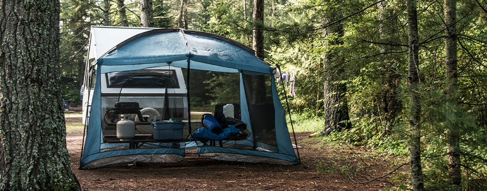 enjoying the nature with the best van tent