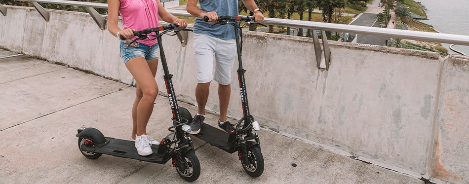 using the best electric scooter for commuting