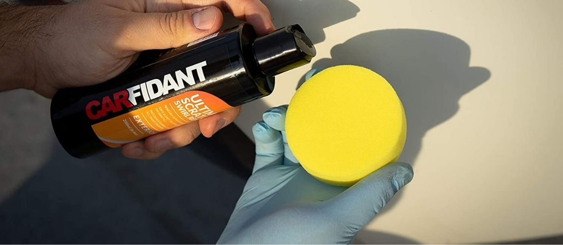 Using buffer compound on a car