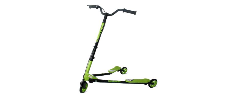 High Bounce Y Slicker 3 Wheel Wiggle Drift Scooter