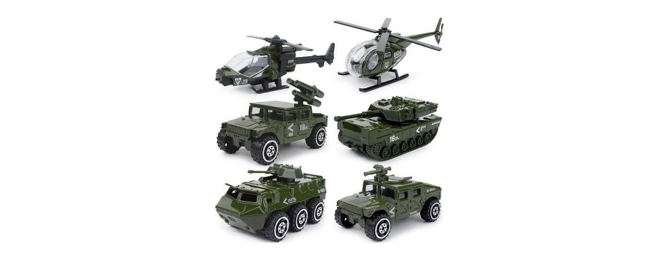JQGT Diecast Military Vehicles