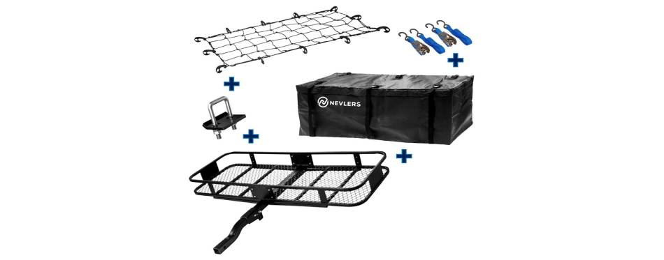 Nevlers Folding Hitch Mount Cargo Carries