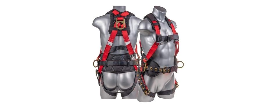 Palmer Safety Fall Protection Full Body 5 point Harness