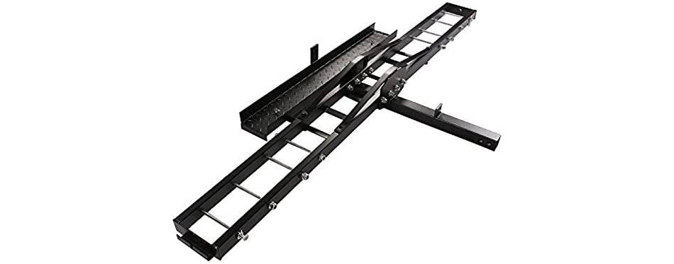 TMS Heavy Duty Motorcycle Carrier Hitch Rack