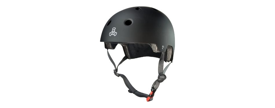 Triple Eight Dual Certified Skateboarding Helmet