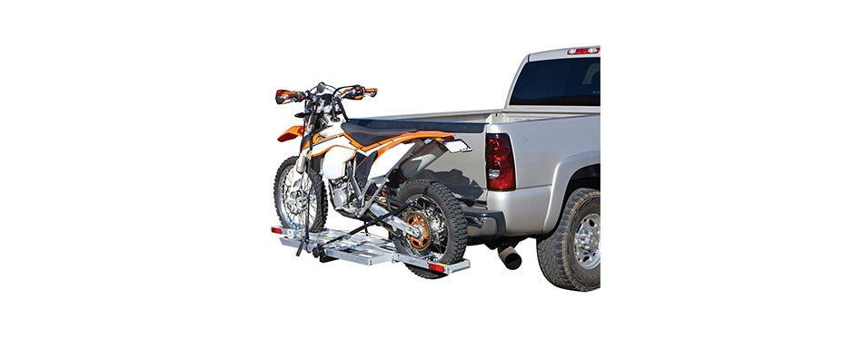 Haul Master Receiver-Mount Aluminum Motorcycle Carrier