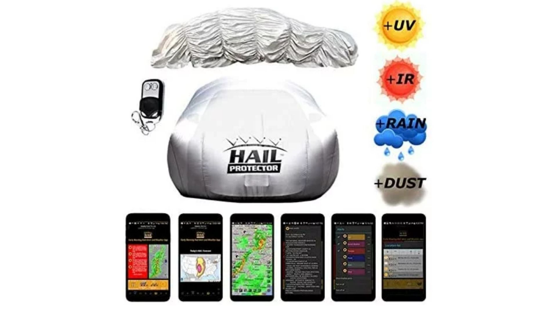 Hail Protector Portable Cover System