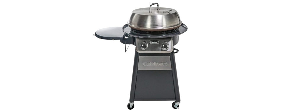 Cuisinart CGG-888 Round Outdoor Flat Top Gas Griddle
