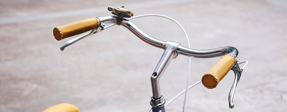 old bicycle using the best bmx grips