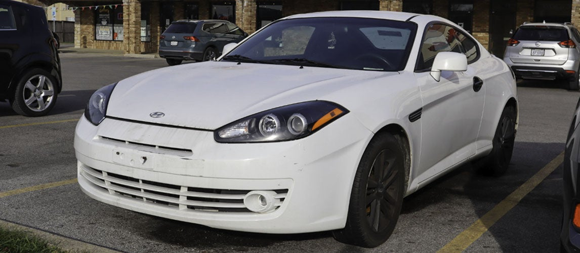 Why I Bought a $600 Hyundai Tiburon That Somebody Ditched in a Parking Lot