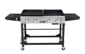 Royal Gourmet GD401 Portable Propane Gas Grill and Griddle Combo
