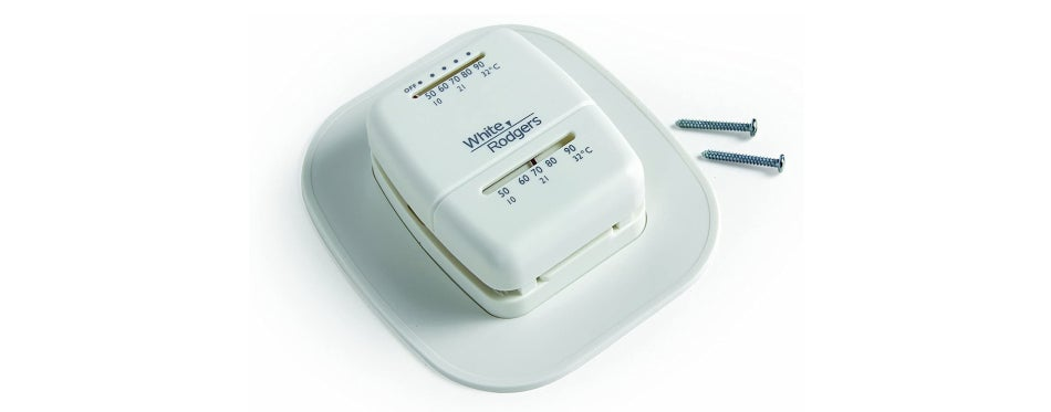 White Rodgers Heat Thermostat