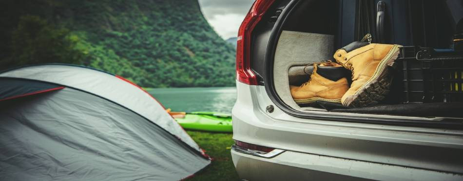 Road Trip with Tent Camping