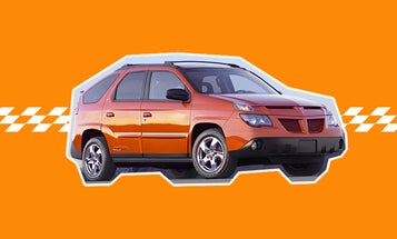 The Pontiac Aztek Didn't Fail Because It Was Ugly. It Failed Because It Was Lazy