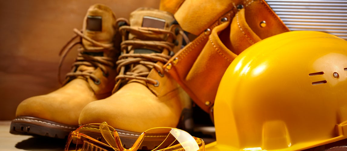 working safe with Waterproof work boots