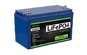 ExpertPower 12V 100Ah Lithium LiFePO4 Deep Cycle Rechargeable Battery