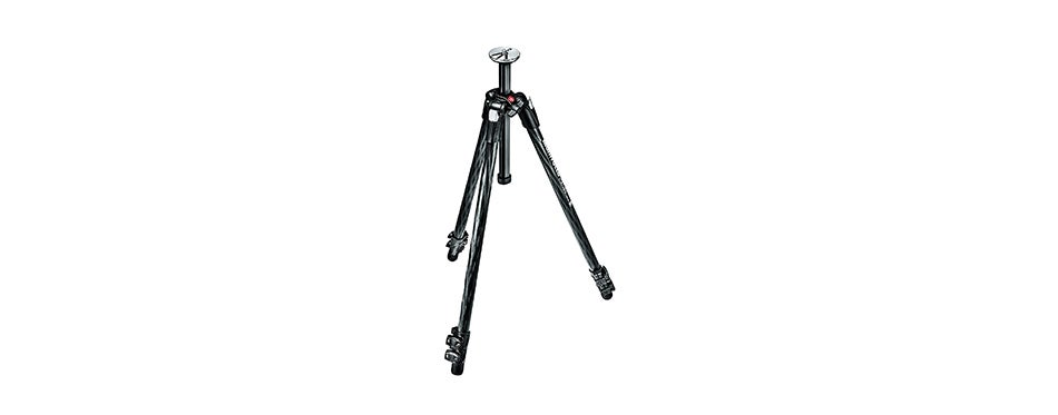 Manfrotto 290 Xtra Carbon Fiber 3-Section Tripod
