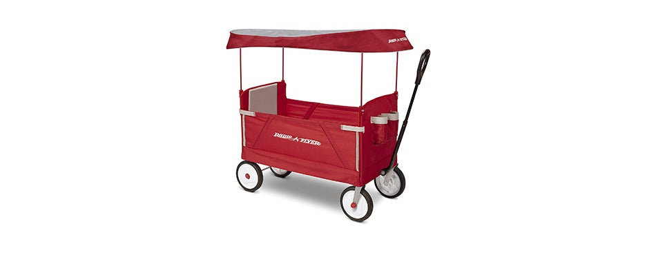 Radio Flyer 3-in-1 EZ Folding Outdoor Collapsible Wagon