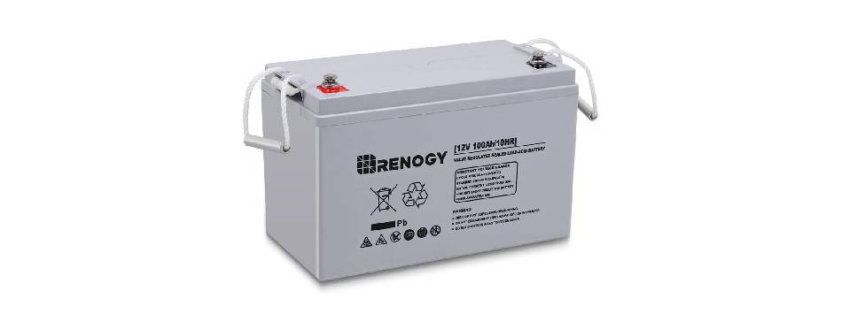 Renogy Deep Cycle AGM Battery for RV Applications