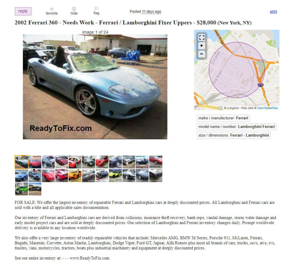 How to Figure Out if a Car Auction Site Is Actually a Scam