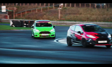 A Ford Fiesta ST Track Battle Is Extra Entertaining With a Real Announcer