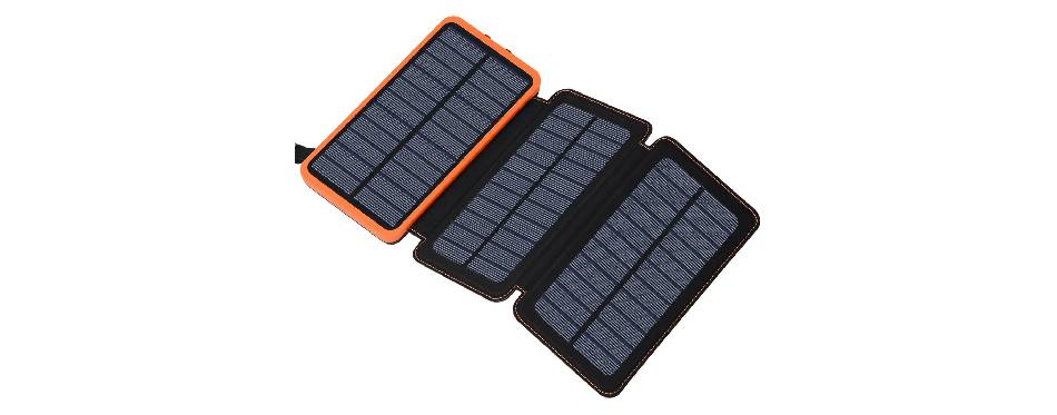 Feelle Solar Charger Power Bank