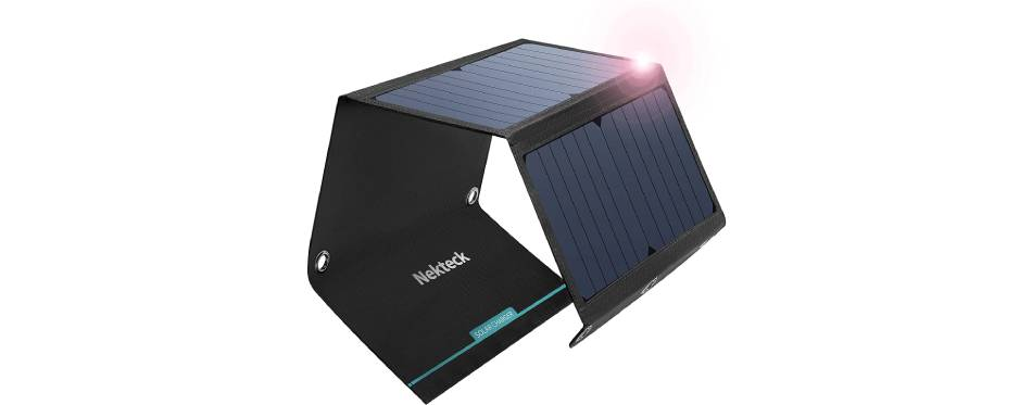 NekTeck Portable Solar Charger