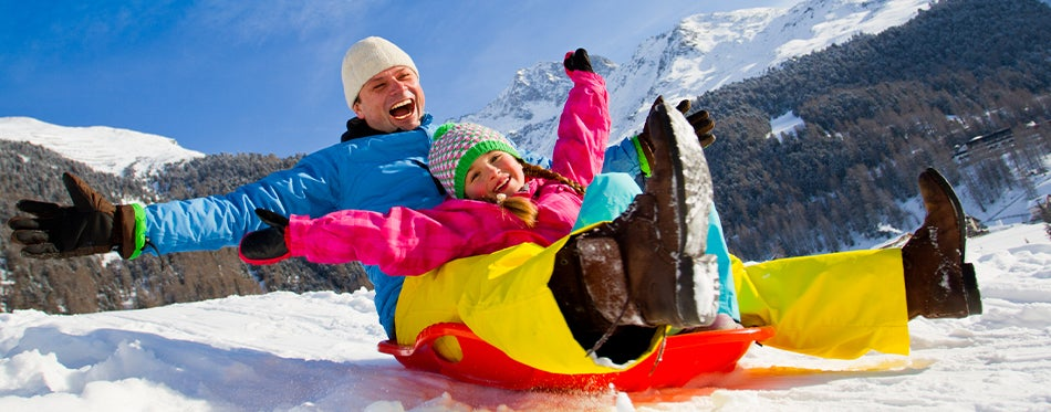 Winter fun with best sleds