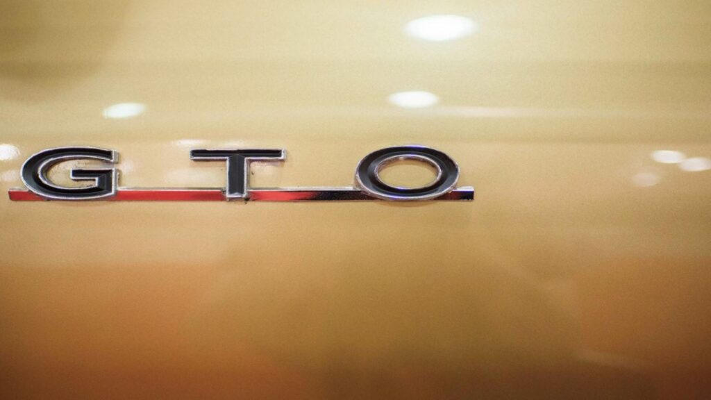 The History of the Legendary 'GTO' Name
