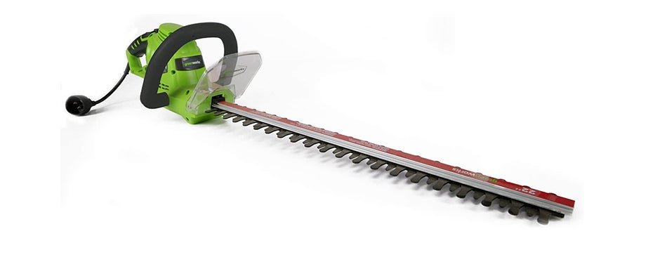 Greenworks Dual-Action Corded Hedge Trimmer