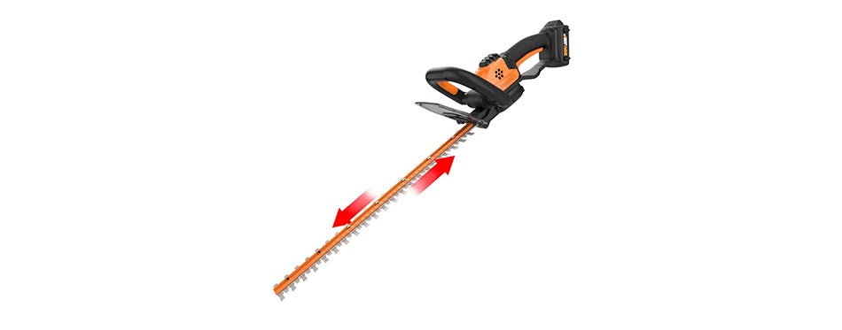 Worx 20V Power Share 22-Inch Cordless Hedge Trimmer