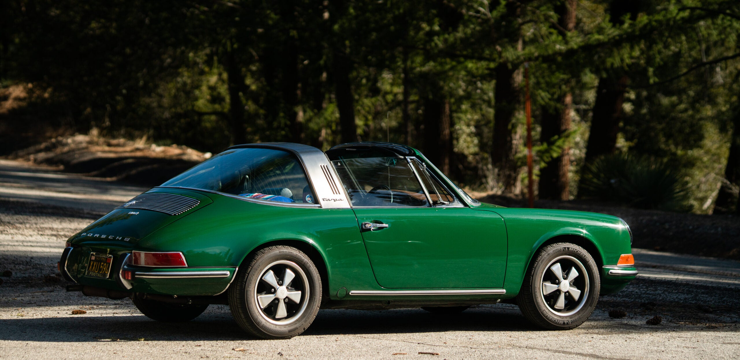"""Of Course We're Sharing An """"Irish Green"""" Porsche on St. Patrick's Day"""