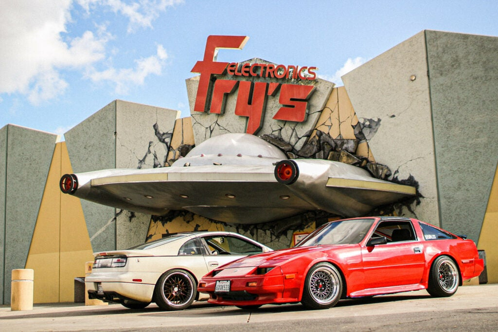 Fry's Electronics Was More Than Just a Fun Store, It Was a Great Backdrop for Car Photos
