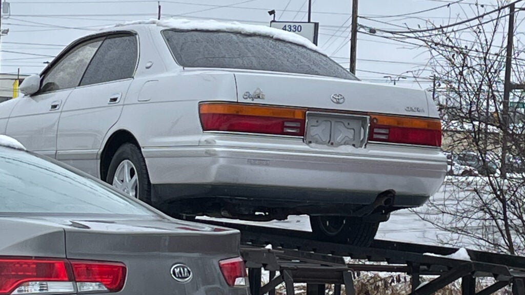 Why Is There a JDM Toyota Crown at a Random Dealership in Ohio?