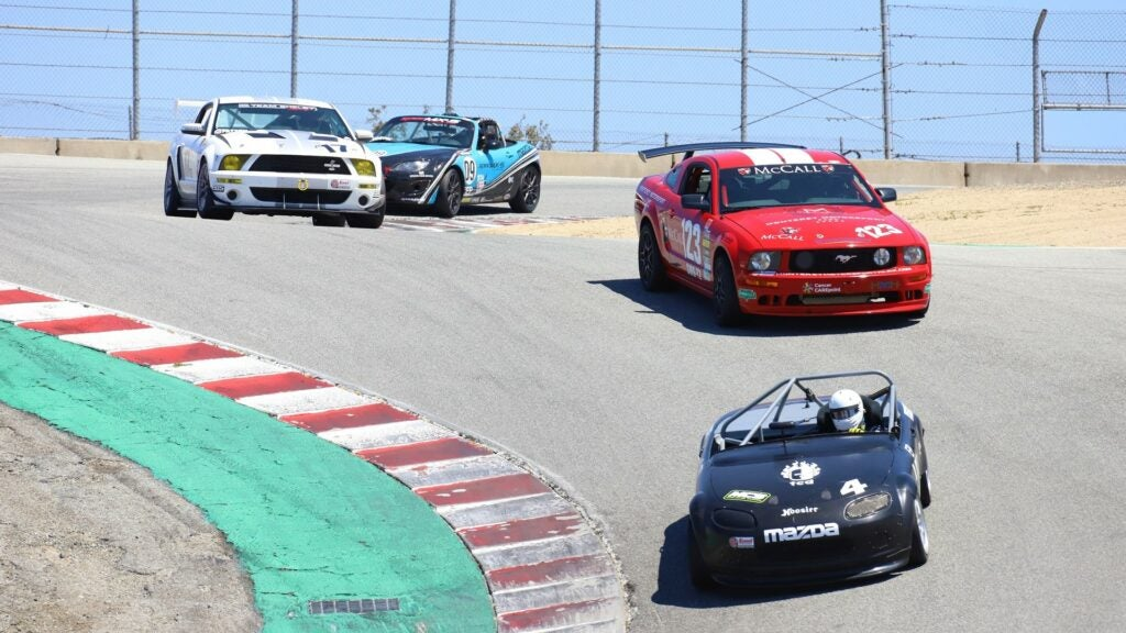 Laguna Seca's Corkscrew Is As Fun To Photograph As Is It Is To Drive On